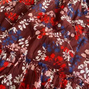 Draper James Dresses - Draper James Floral Peasant Smocked Dress